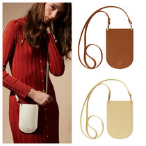 OAD NEW YORK Plain Leather Shoulder Bags