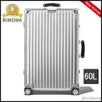 RIMOWA Unisex 3-5 Days Hard Type TSA Lock Luggage & Travel Bags