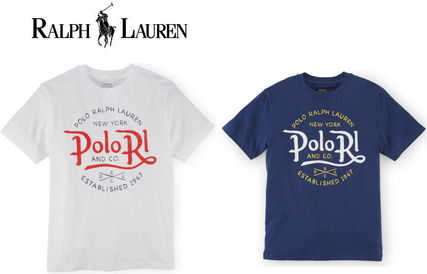 Ralph Lauren Crew Neck Crew Neck Cotton Short Sleeves Crew Neck T-Shirts