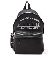 PHILIPP PLEIN Faux Fur A4 Backpacks