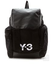 Y-3 Faux Fur Street Style Backpacks
