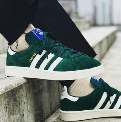 a few days away good service latest adidas CAMPUS Suede Sneakers