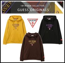 Guess Unisex Street Style Hoodies