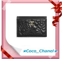 CHANEL ICON Calfskin Card Holders