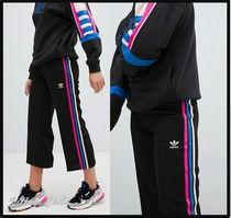adidas Stripes Casual Style Street Style Plain Medium
