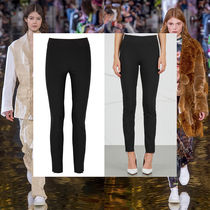Stella McCartney Plain Long Elegant Style Skinny Pants