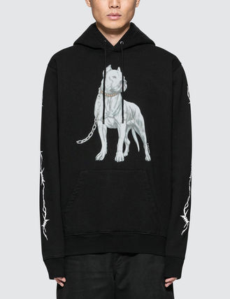 Marcelo Burlon Hoodies Pullovers Unisex Street Style Long Sleeves Hoodies 2