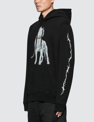 Marcelo Burlon Hoodies Pullovers Unisex Street Style Long Sleeves Hoodies 3