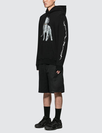 Marcelo Burlon Hoodies Pullovers Unisex Street Style Long Sleeves Hoodies 6