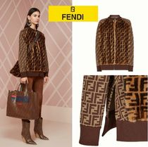 FENDI Monogram Casual Style Medium Jackets