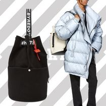 Off-White Unisex Canvas Street Style Collaboration 2WAY Bi-color