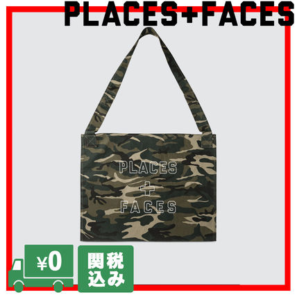 Camouflage Unisex Street Style Messenger & Shoulder Bags