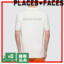 PLACES+FACES Unisex Street Style Oversized T-Shirts