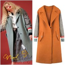 ELF SACK Casual Style Street Style Coats