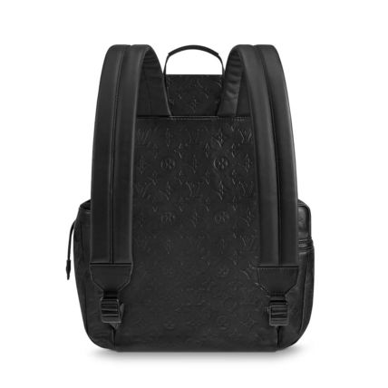 Louis Vuitton Backpacks Monogram Blended Fabrics Street Style A4 Leather Backpacks 7