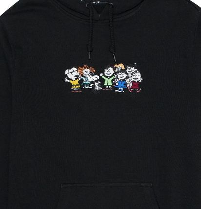 HUF Hoodies Pullovers Sweat Street Style Collaboration Long Sleeves 2