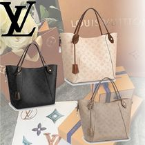 Louis Vuitton MAHINA Monogram 2WAY Leather Handbags
