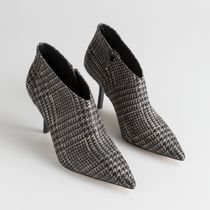 & Other Stories Zigzag Casual Style Pin Heels Ankle & Booties Boots