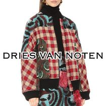 Dries Van Noten Short Other Check Patterns MA-1 Bomber Jackets