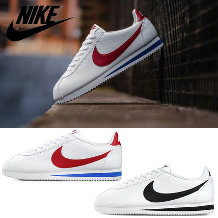 Nike CORTEZ 2018 19AW Unisex Street Style Plain Leather Sneakers