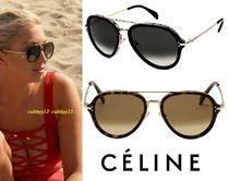 CELINE Street Style Tear Drop Sunglasses
