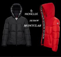 MONCLER MONTCLAR Short Plain Down Jackets