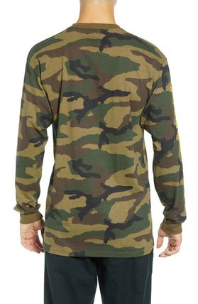 VANS Long Sleeve Camouflage Long Sleeves Cotton Long Sleeve T-Shirts 2