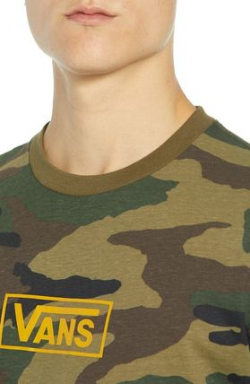 VANS Long Sleeve Camouflage Long Sleeves Cotton Long Sleeve T-Shirts 3