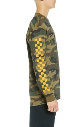 VANS Long Sleeve Camouflage Long Sleeves Cotton Long Sleeve T-Shirts 4