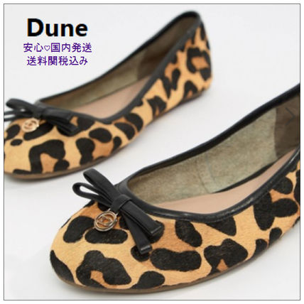 Leopard Patterns Ballet Shoes