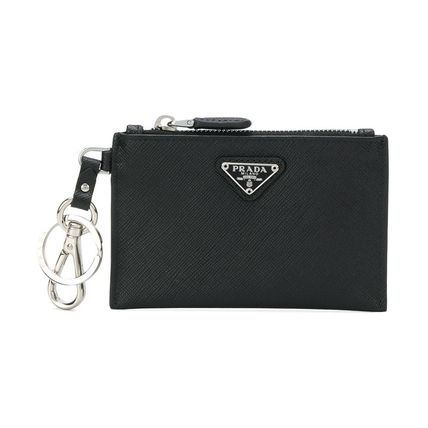 8f0660061bb928 PRADA 2018-19AW Street Style Plain Leather Coin Cases by lshibuya ...
