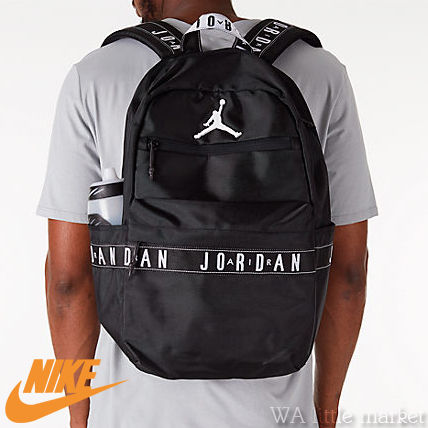 46532647b2 Nike AIR JORDAN 2018-19AW Unisex Street Style A4 Backpacks by ...