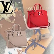 Louis Vuitton 2WAY Leather Handbags