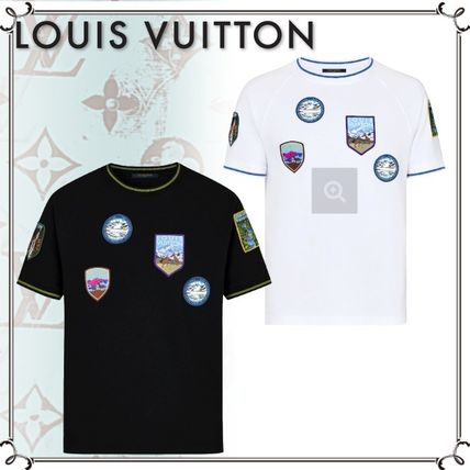 ... Louis Vuitton More T-Shirts Street Style Plain Cotton Short Sleeves T- Shirts ... b7e46adf65d