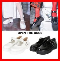 OPEN THE DOOR Casual Style Street Style Loafer & Moccasin Shoes