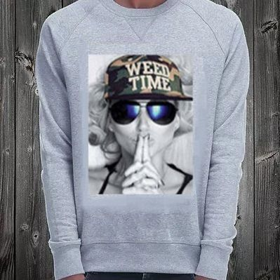 NO COMMENT PARIS Sweatshirts Crew Neck Pullovers Unisex Street Style Long Sleeves Plain 2