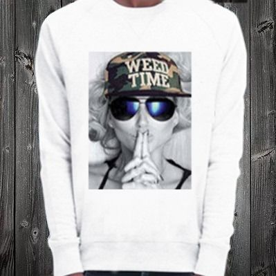 NO COMMENT PARIS Sweatshirts Crew Neck Pullovers Unisex Street Style Long Sleeves Plain 4