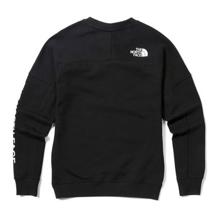 THE NORTH FACE Sweatshirts Street Style Long Sleeves Sweatshirts 2