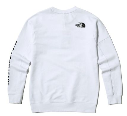 THE NORTH FACE Sweatshirts Street Style Long Sleeves Sweatshirts 8