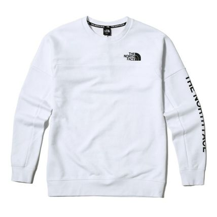 THE NORTH FACE Sweatshirts Street Style Long Sleeves Sweatshirts 9