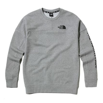 THE NORTH FACE Sweatshirts Street Style Long Sleeves Sweatshirts 10