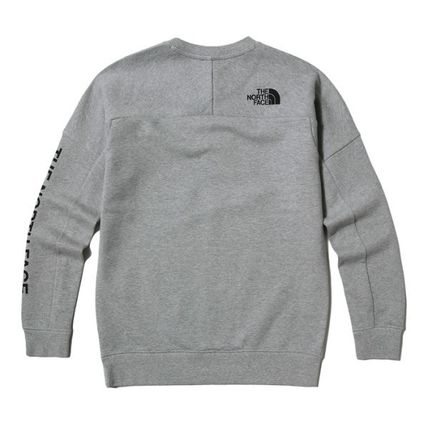 THE NORTH FACE Sweatshirts Street Style Long Sleeves Sweatshirts 11