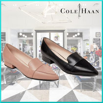 Cole Haan Casual Style Plain Leather Loafer Pumps & Mules