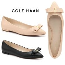 Cole Haan Plain Leather Slip-On Shoes