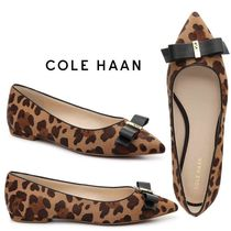 Cole Haan Leopard Patterns Spawn Skin Slip-On Shoes