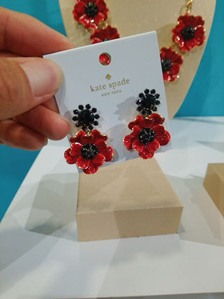 Kate Spade New York Flower Earrings Piercings By Viathesecond Usa