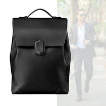 HERMES Calfskin Bag in Bag A4 Plain Backpacks