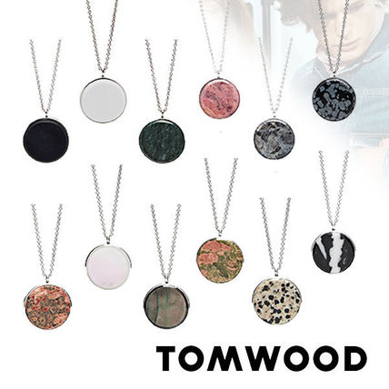 Costume Jewelry Casual Style Silver Necklaces & Pendants