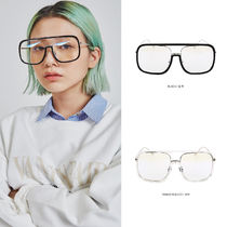 OPEN THE DOOR Unisex Street Style Square Optical Eyewear