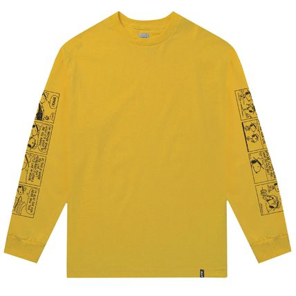 HUF Long Sleeve Crew Neck Unisex Street Style Collaboration Long Sleeves 4